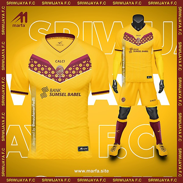 SRIWIJAYA F.C FANTASY HOME KIT CONCEPT