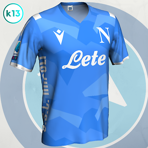 S.S.C. Napoli - Home kit