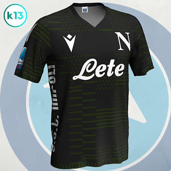 S.S.C. Napoli - Third kit