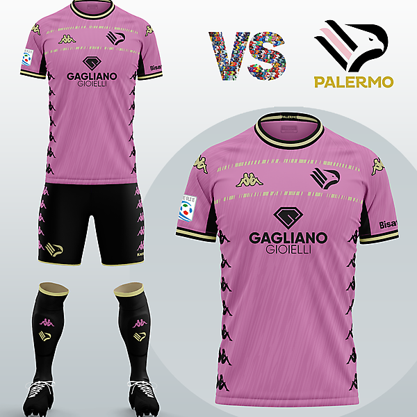 SSD Palermo Home kit with Kappa (Fantasy 2020/21)