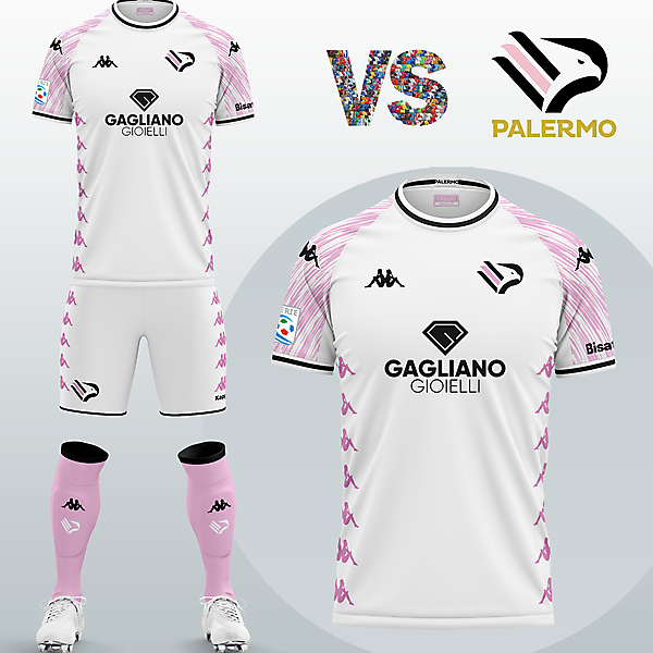 SSD Palermo Third kit with Kappa (Fantasy 2020/21)