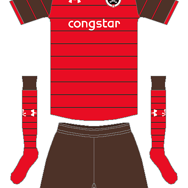 St. Pauli Under Armour Away Kit