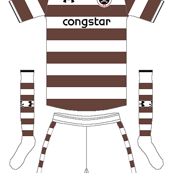 St. Pauli Under Armour Home Kit