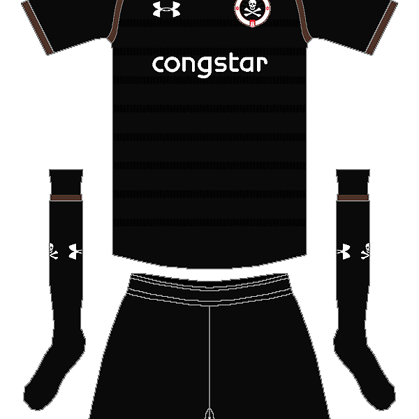 St. Pauli Under Armour Third Kit