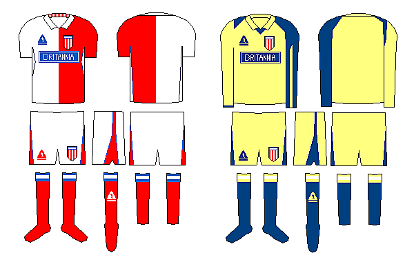 Stoke  City Home and Gk Kit