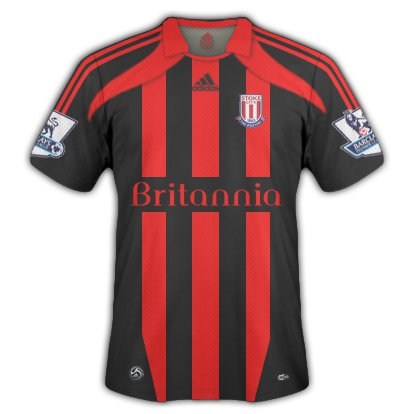 Stoke City away kit