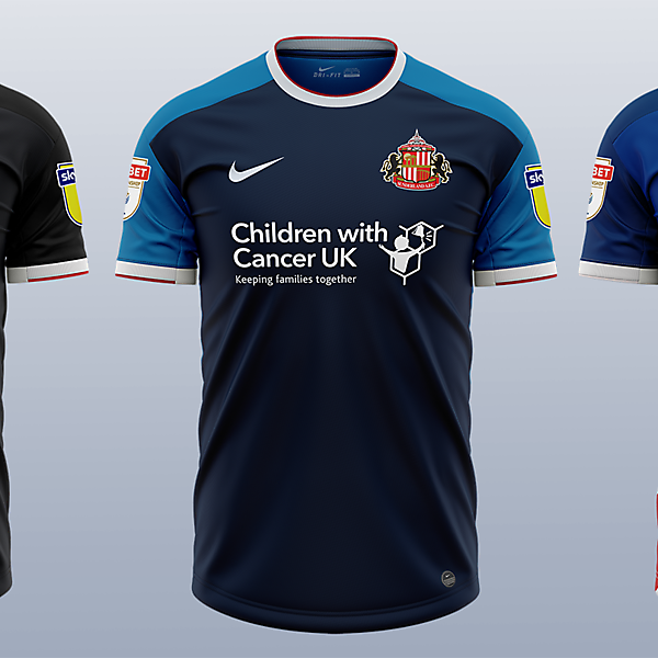 Sunderland Nike Away Concepts