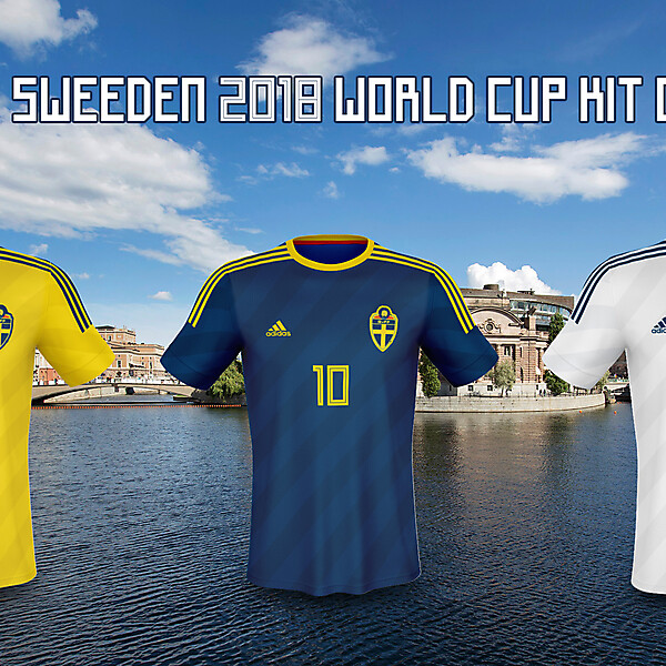Sweden 2018 WC Kits