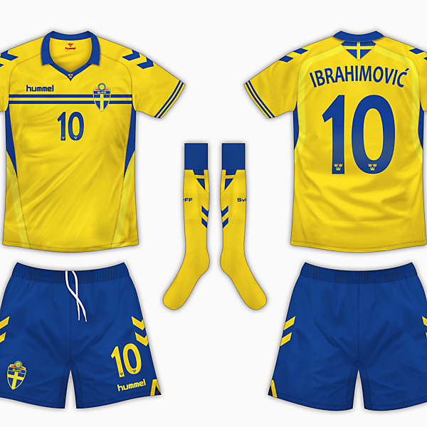 Sweden Home Kit - Hummel