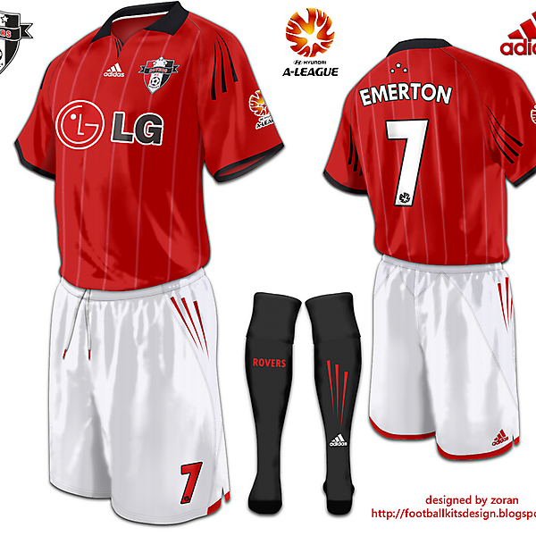 Sydney Rovers FC Third Strip