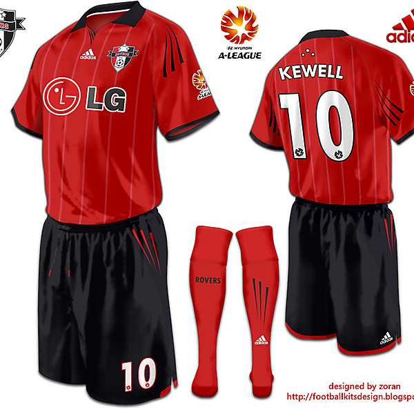 Sydney Rovers FC alternative Third Kit