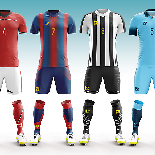 teamwear kit concepts