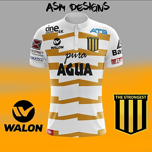 The Strongest 2018 Walon Away Kit