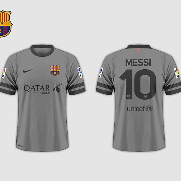 Third kit // FC Barcelona