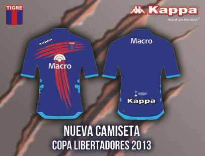 The next CA Tigre Libertadores Shirt