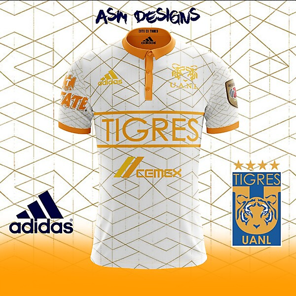 Tigres UANL 2018 Adidas Away Kit