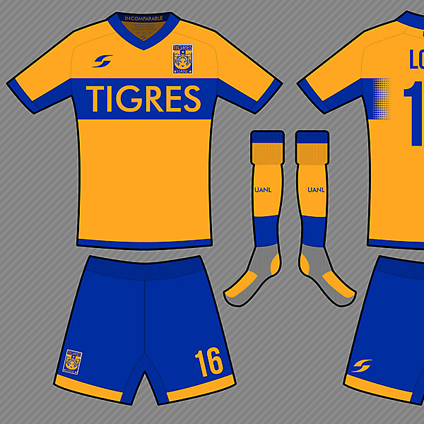 Tigres UANL Home Shirt