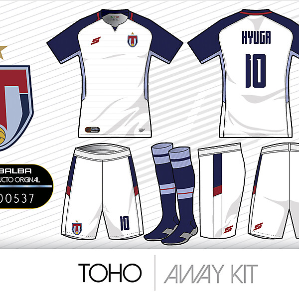 Toho Away kit