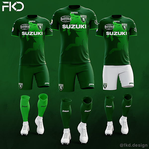Torino FC - Joma Fourth Kit (3 Alternatives)
