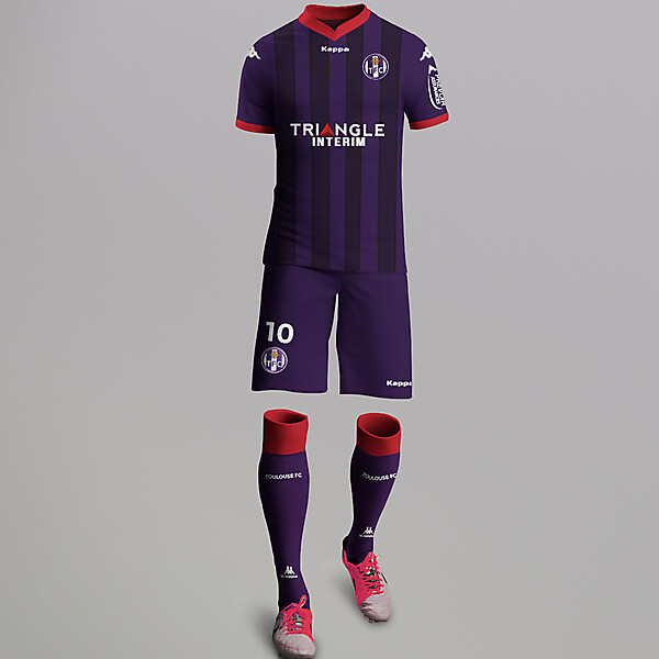 Toulouse FC Third kit