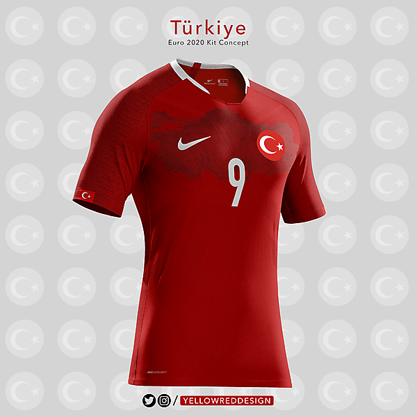 Turkiye Euro2020 Kit Design