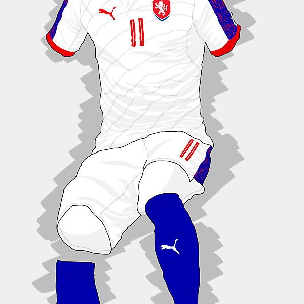 UEFA EURO 2016 - Czech Republic Away Kit