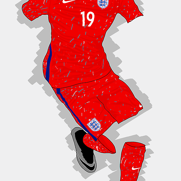 UEFA EURO 2016 - England Home Kit