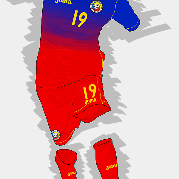 UEFA EURO 2016 - Romania Away Kit