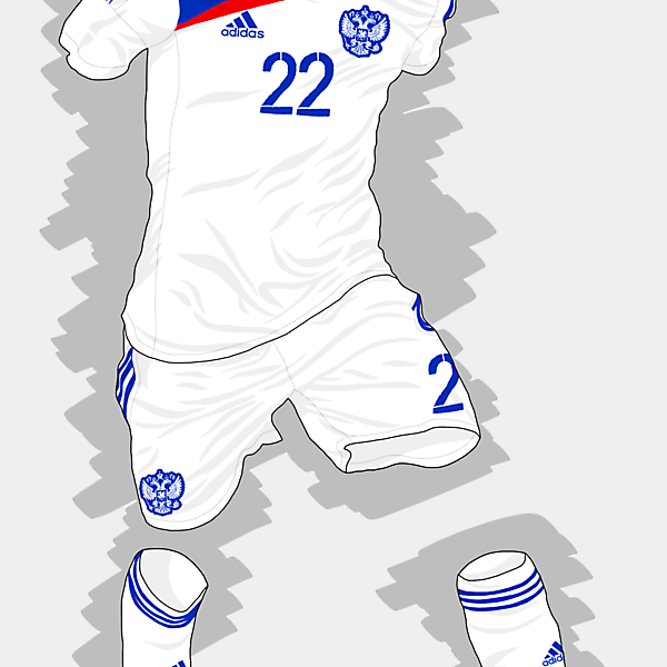 UEFA EURO 2016 - Russia Away Kit