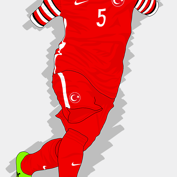 UEFA EURO 2016 - Turkey Home Kit