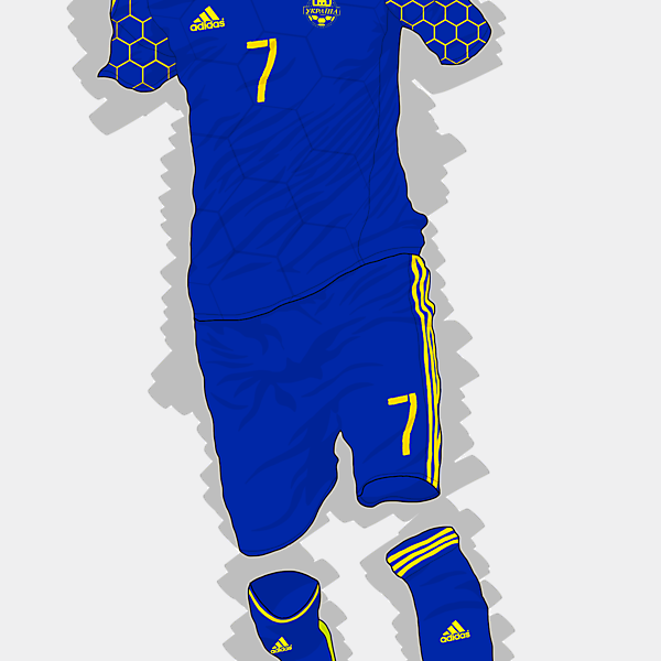 UEFA EURO 2016 - Ukraine Away Kit