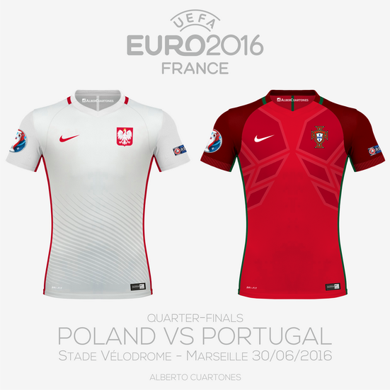UEFA EURO 2016™ Quarter-Finals | Poland vs Portugal