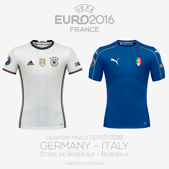 UEFA EURO 2016™ Quarter-Finals | Germany vs Italy