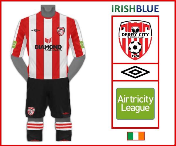 Umbro Derry City Home