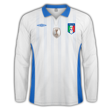 Italy 2010 by Umbro - 3 versions