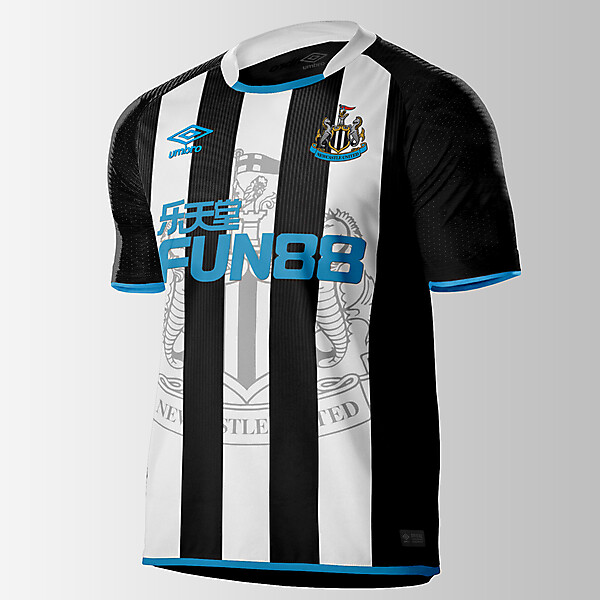Umbro Newcastle United Home Jersey concept