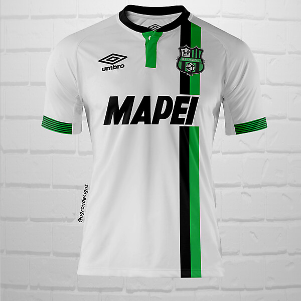 Umbro Sassuolo Away Kit Concept