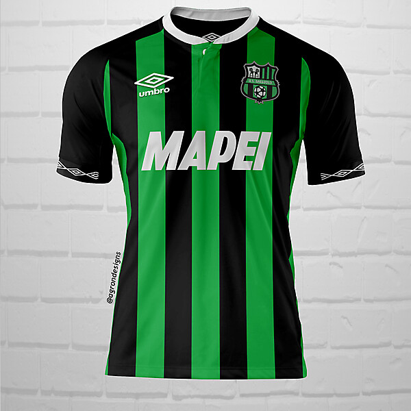 Umbro Sassuolo Home Kit Concept