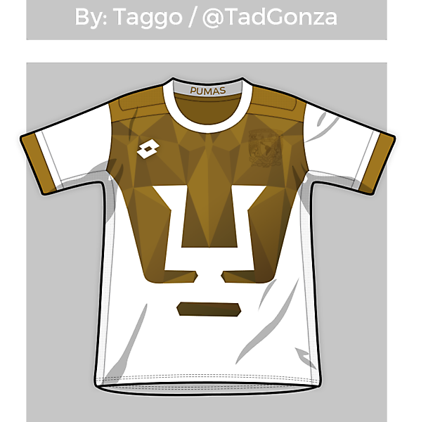 UNAM Pumas Home (or away, you know)