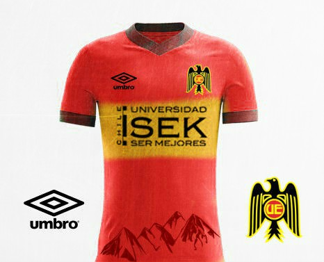 Union Espanola Umbro Home kit