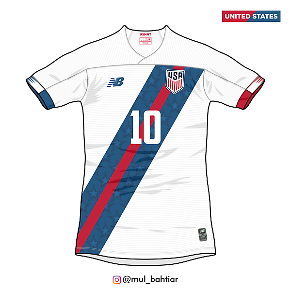 United States 2020 New Balance Third Jersey Concept