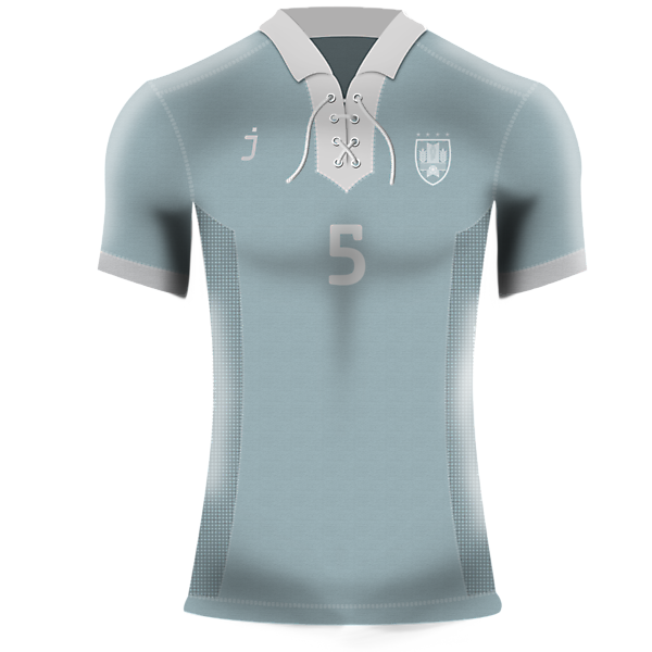 Uruguay home kit (Retro) by<br />J-sports