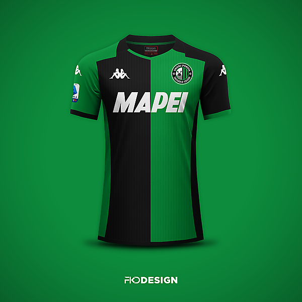 US Sassuolo | Kappa | Home | New crest
