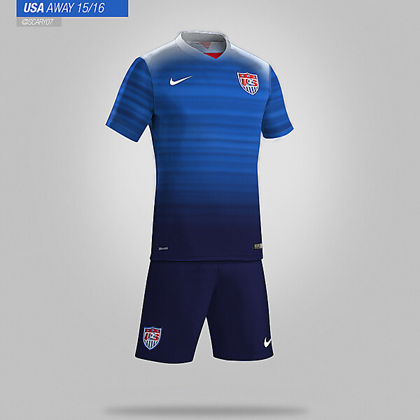 USA 15/16 - AWAY KIT LEAKED