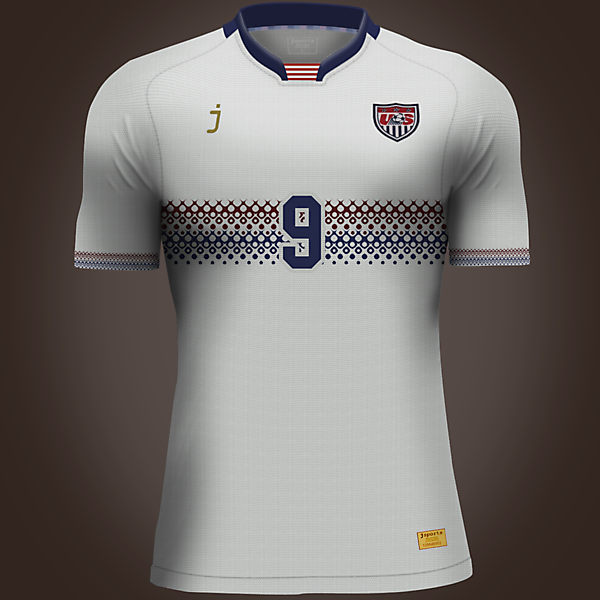 USA home jersey by J-sports
