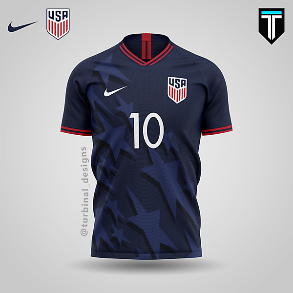 USA x Nike - Away Kit