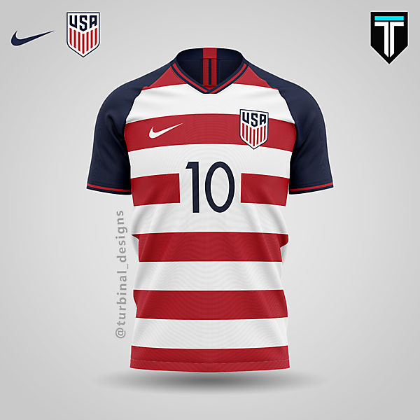 USA x Nike - Third Kit