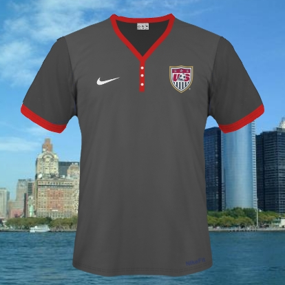 usa nike kits own template