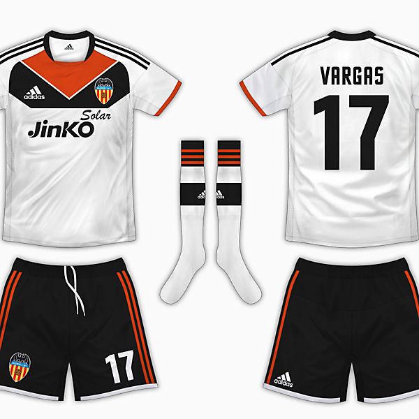 Valencia Home Kit - Adidas