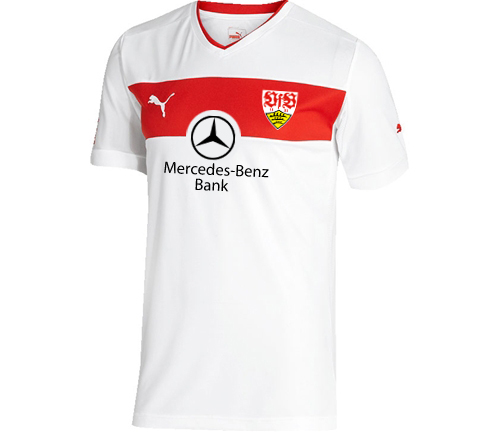 VfB Stuttgart 2013/2014 home kit